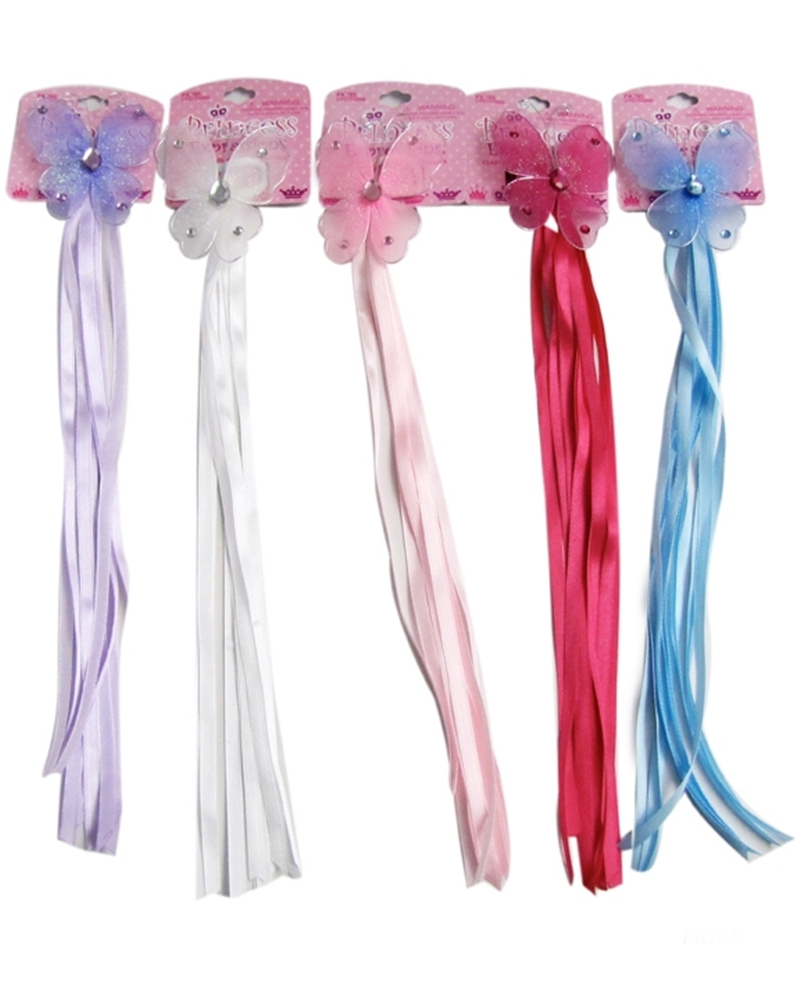 Princess Butterfly Ponytail with Ribbon