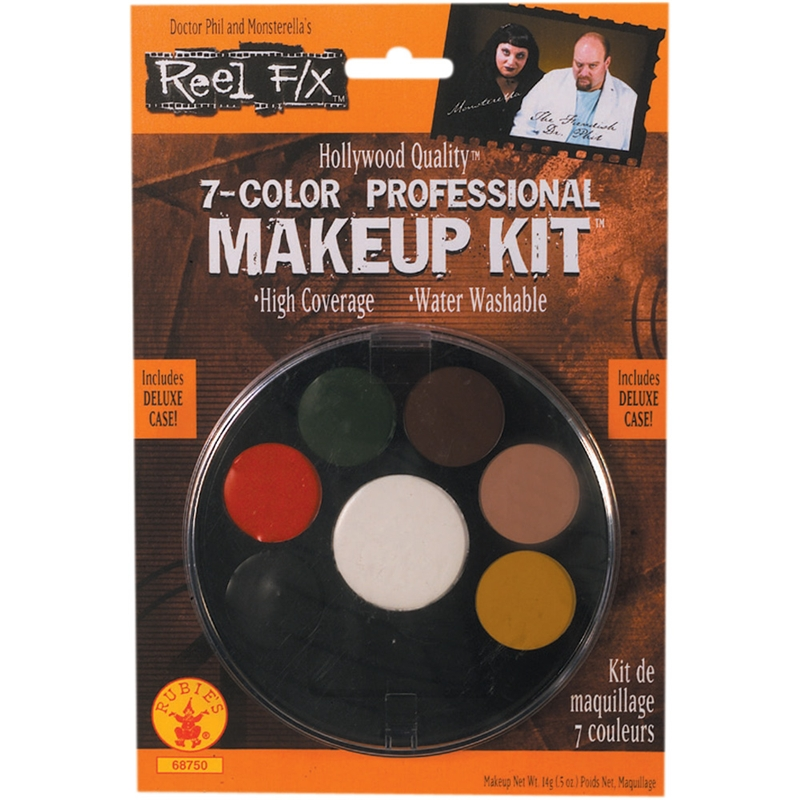Professional 7 Color Makeup Kit by Rubies