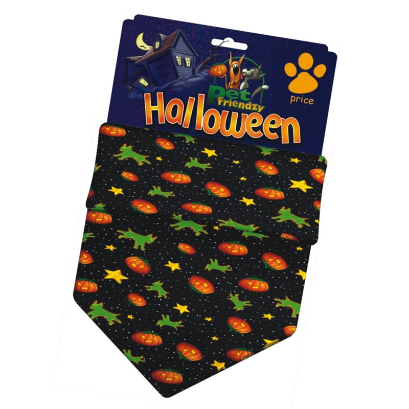 Pumpkin Pet Bandana