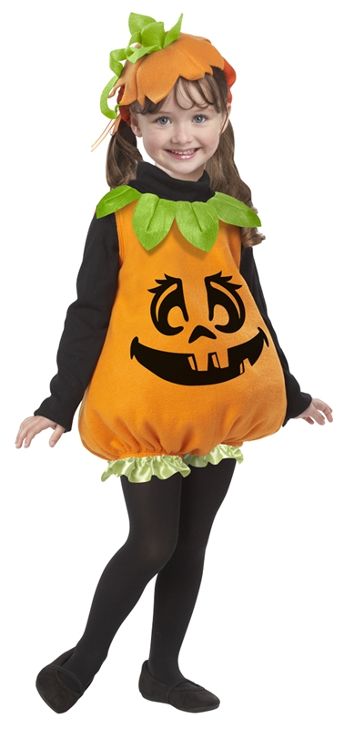 Pumpkin Girl Toddler Costume