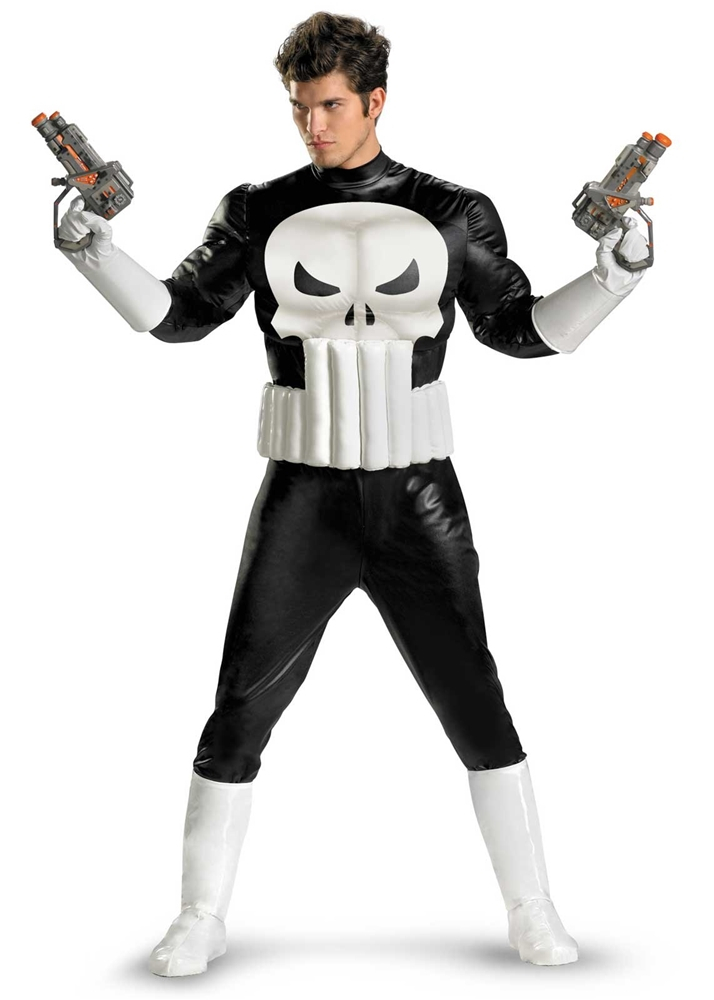 Punisher Adult Mens Costume