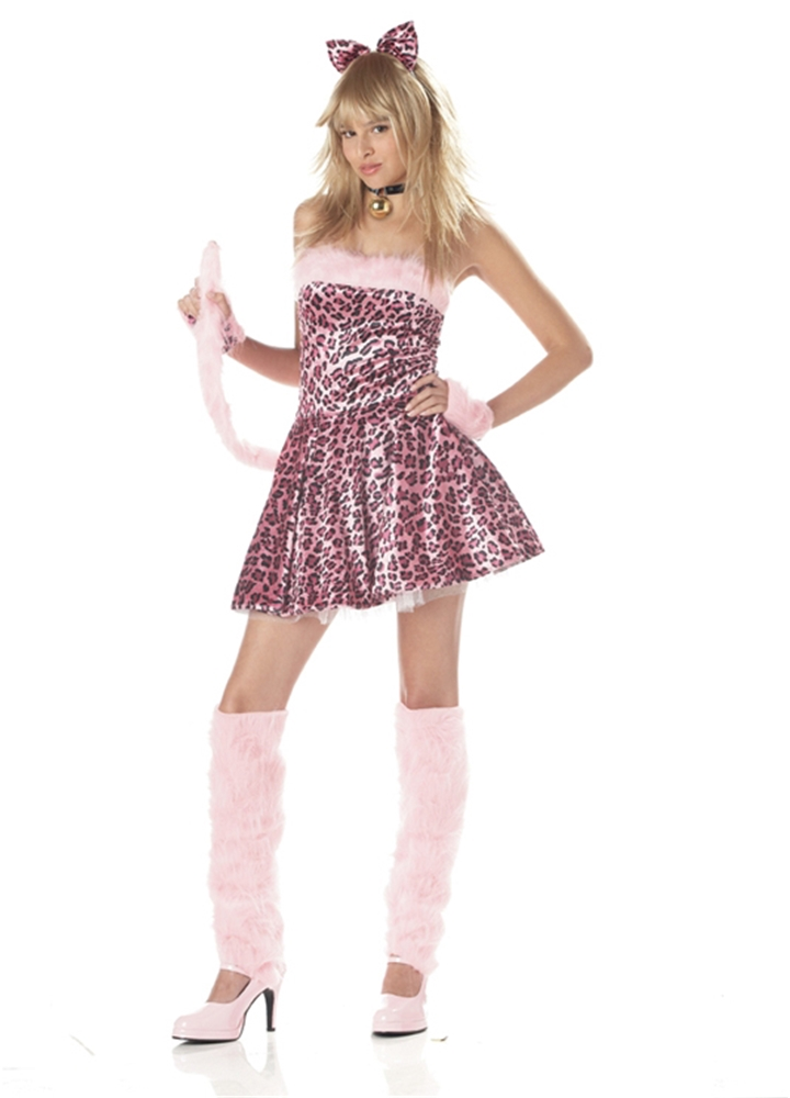 Purrty Kitty Teen Costume
