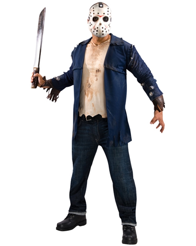 Jason Friday the 13th Plus Size Adult Mens Costume
