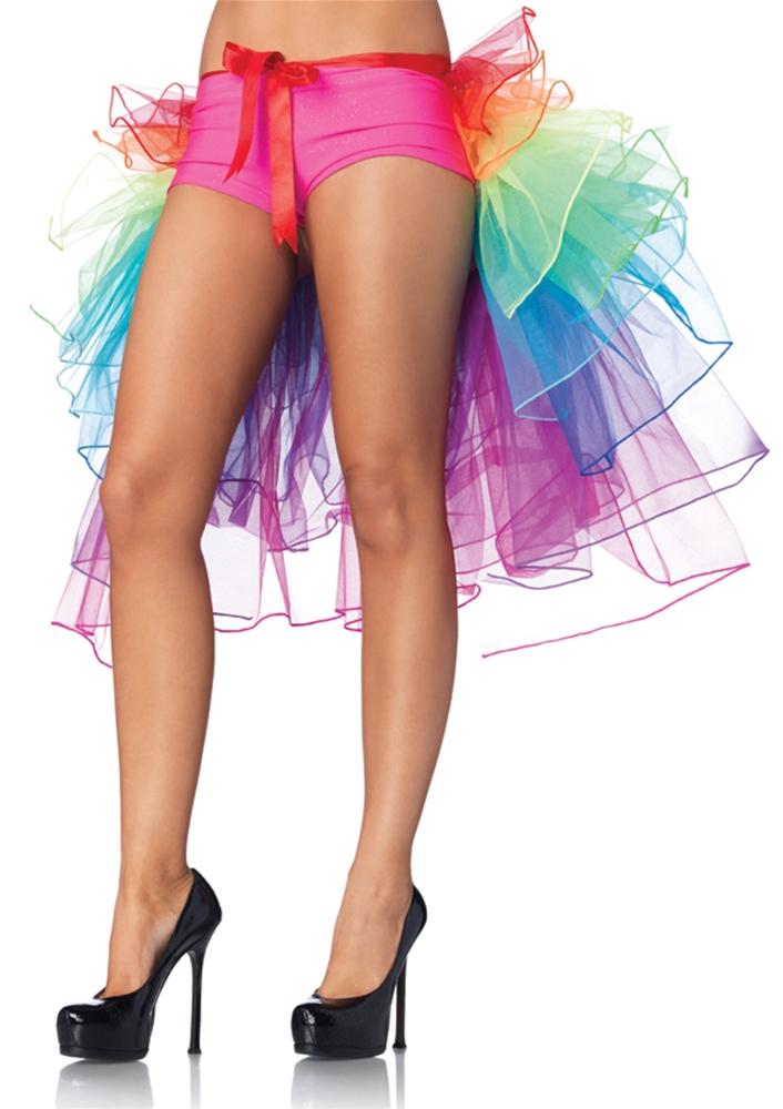 Rainbow Bustle Skirt by Leg Avenue