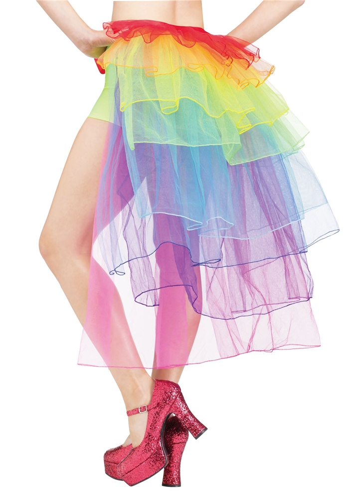 0c2ba4d3d Rainbow Tutu Bustle Adult Womens Skirt