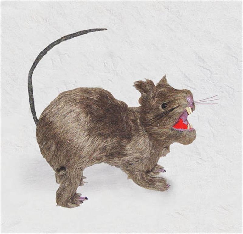 Menacing Realistic Rat