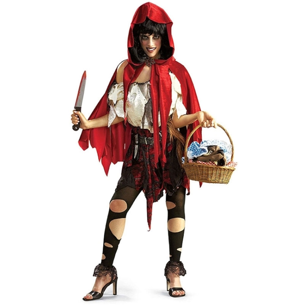 Red R (Dead Riding Hood Costume)