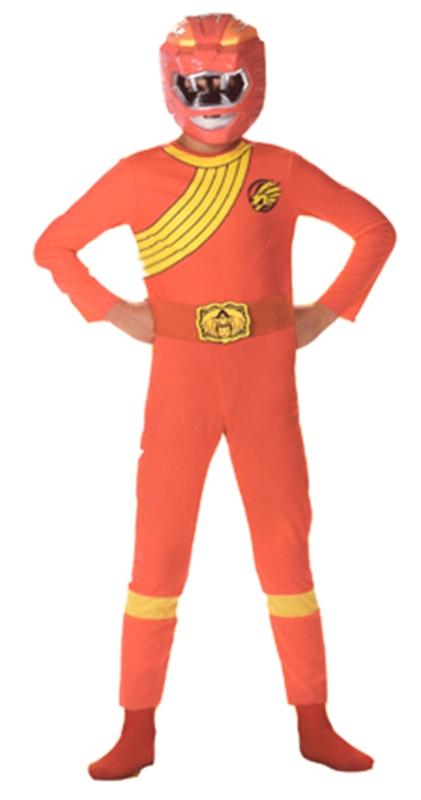Купить Red Ranger Wild Force Boys Child Costume