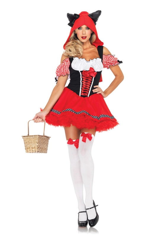 Red Riding Wolf Sexy Adult Womens Costume