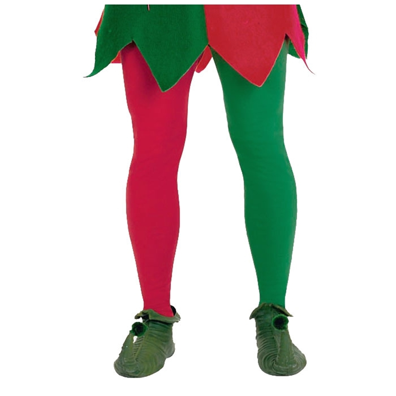 Red and Green Tights