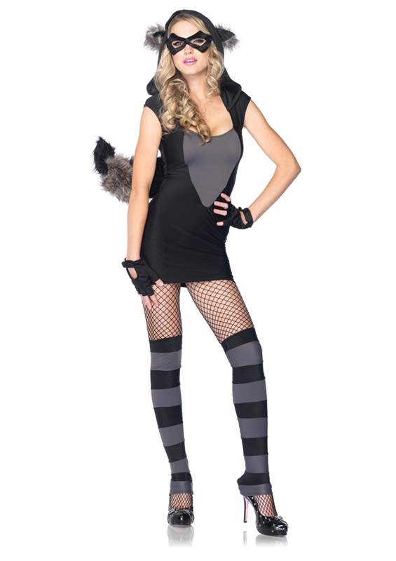 Risky Raccoon Adult Womens Costume