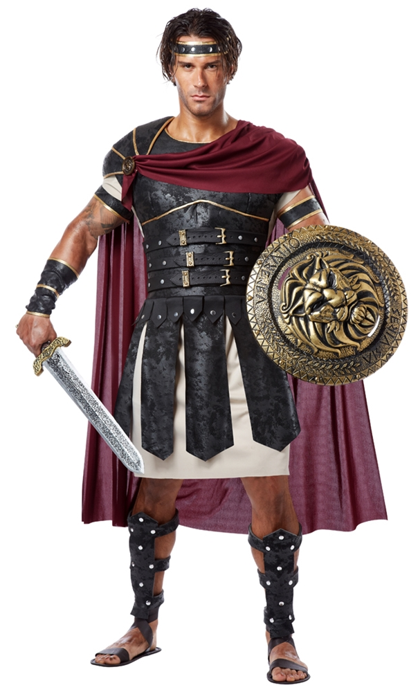 Roman Gladiator Adult Mens Plus Size Costume