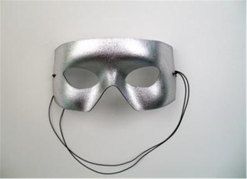 Silver Verona Adult Mask