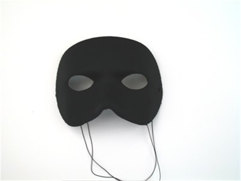 Black Casanova Adult Mask