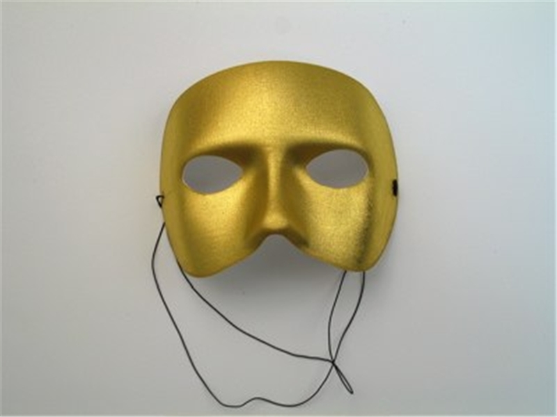 Gold Casanova Adult Mask