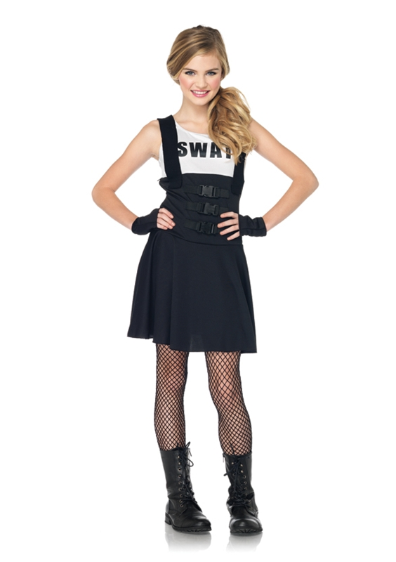 SWAT Officer Girls Costume