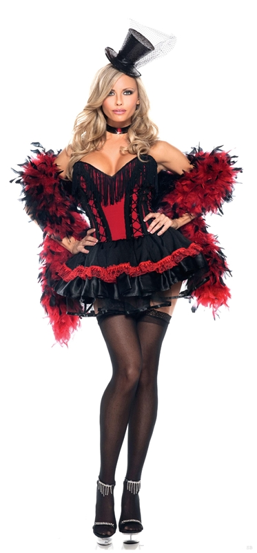 Saloon Girl Adult Womens Costume by Be Wicked