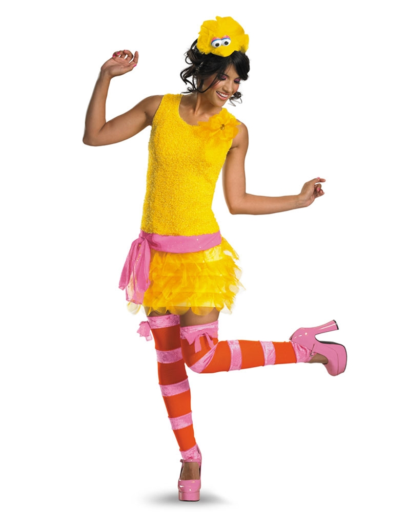 Sassy Big Bird Adult Costume