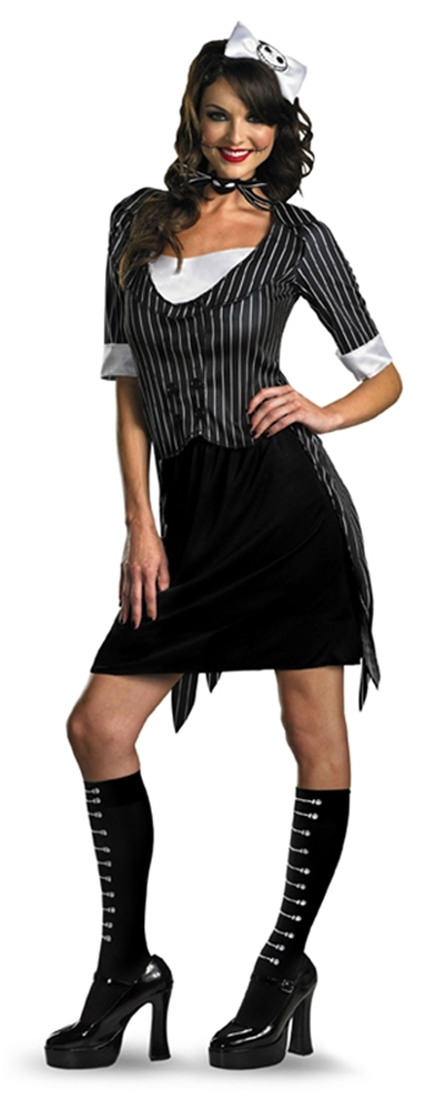 Sassy Jack Skellington Adult Womens Costume