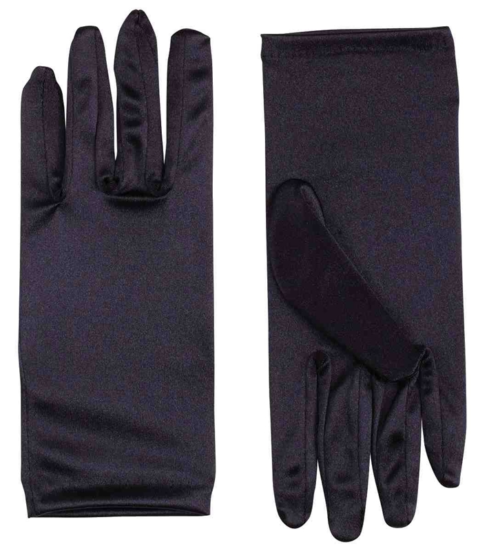 Satin Gloves 9in