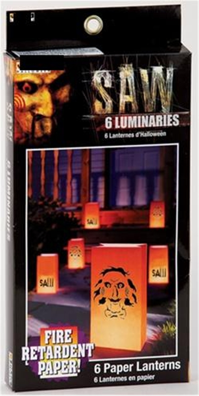 Saw Luminaries by Paper Magic