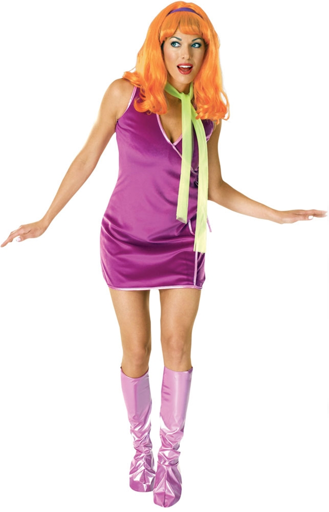 Scooby-Doo Daphne Adult Womens Costume (Daphne Costume)