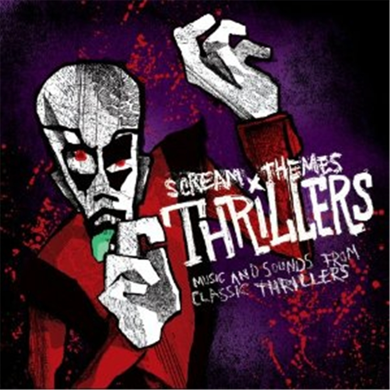 Scream Themes Thrillers CD