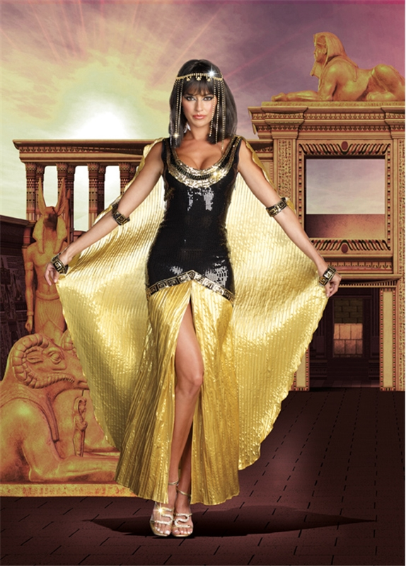 Sequin Cleopatra Adult Womens Costume