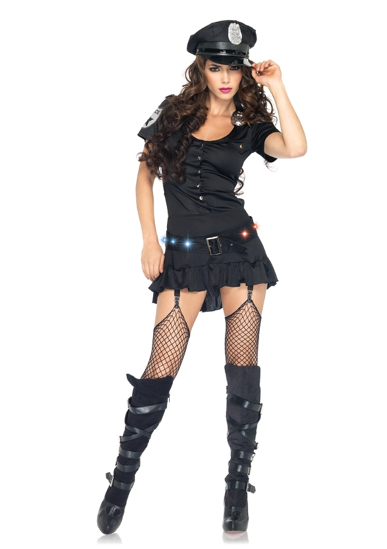 Sergeant Adult Womens Sexy Costume by Leg Avenue