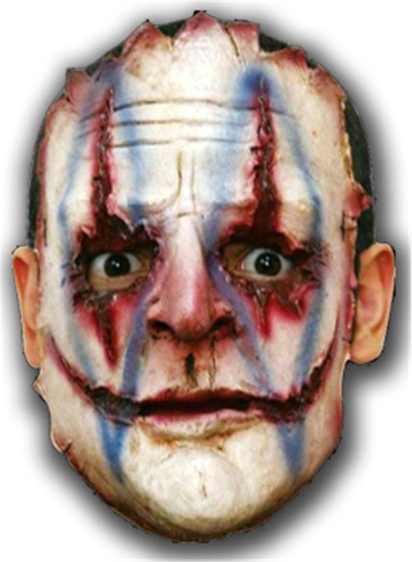 Serial Killer Clown Adult Mask
