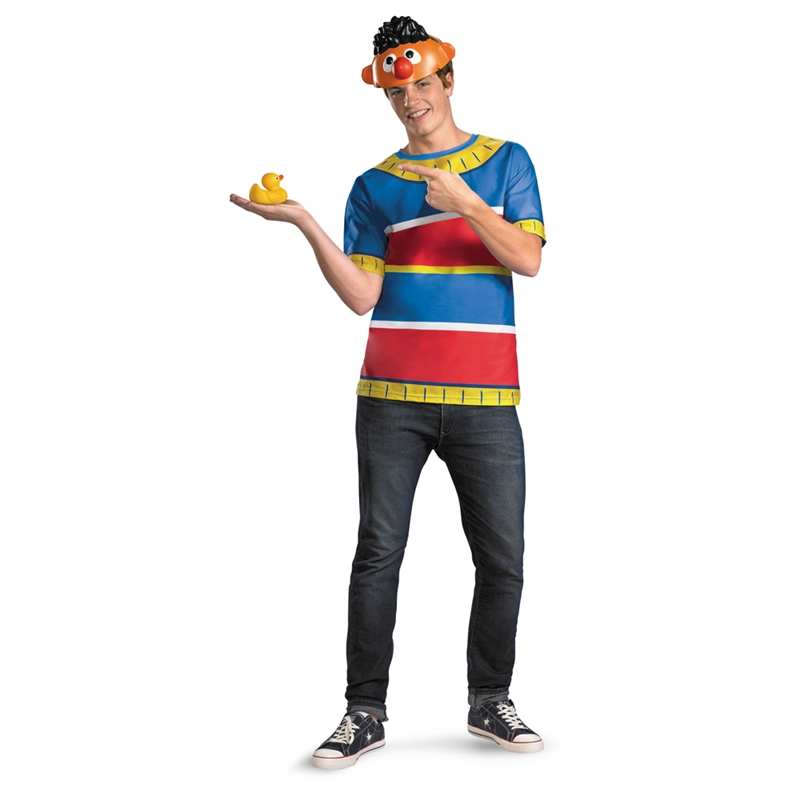 Купить Sesame Street Ernie T-Shirt Plus Size Adult Mens Costume