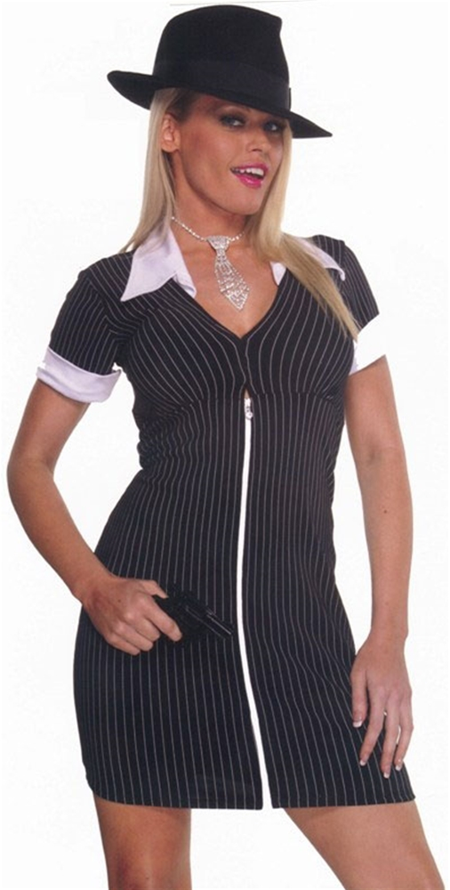 Sexy Gangster Adult Womens Costume