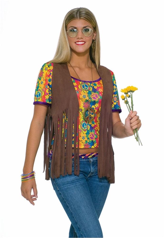 Sexy Hippie Vest Costume