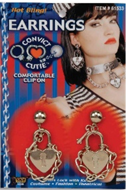 Sexy Convict Earrings