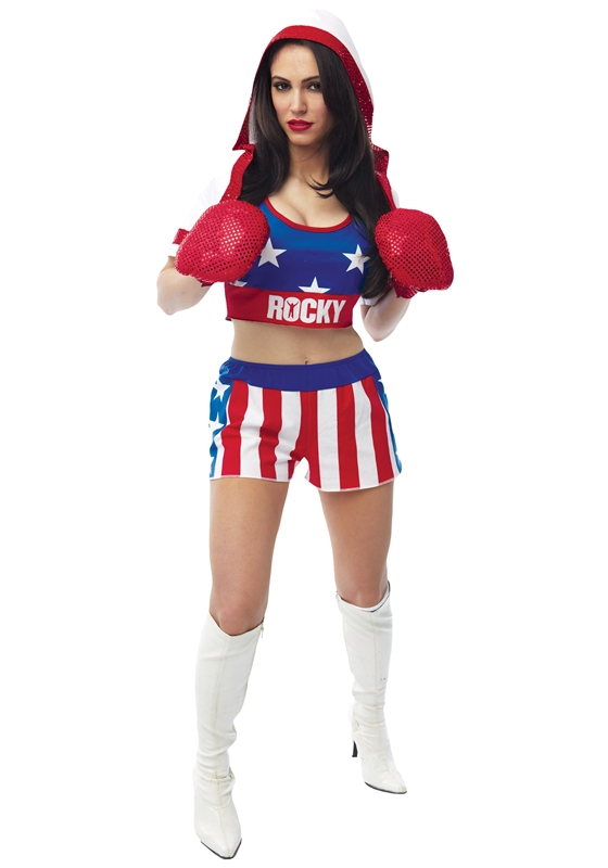 Sexy Rocky Adult Womens Costume