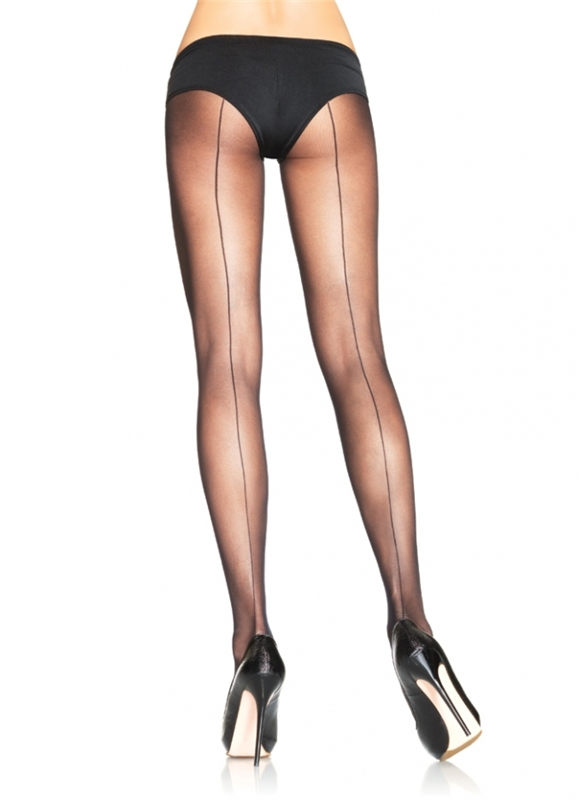 Sheer Back Seam Pantyhose