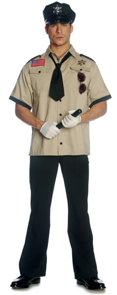 Image of Sheriff Adult Mens Costume