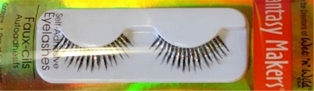 Silver Hologram Eyelashes