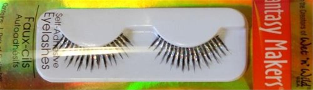 Silver Hologram Eyelashes