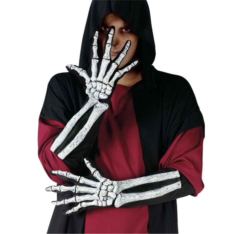 Skeleton Bone Adult Gloves by Fun World
