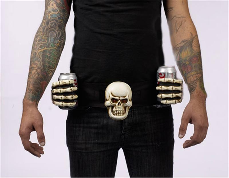 Skeleton Drinking Belt