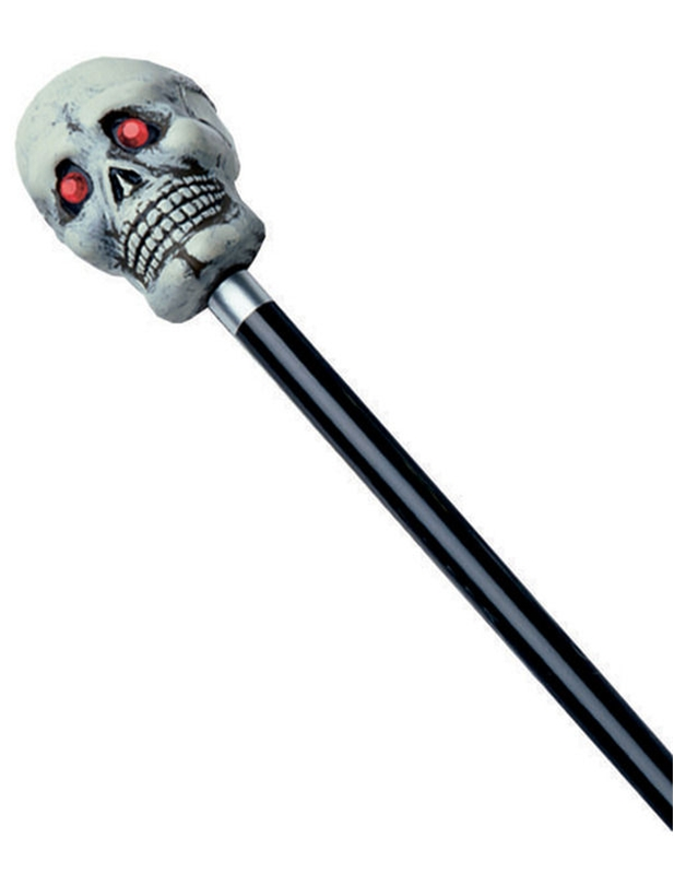 48in Skull Cane by Rubies