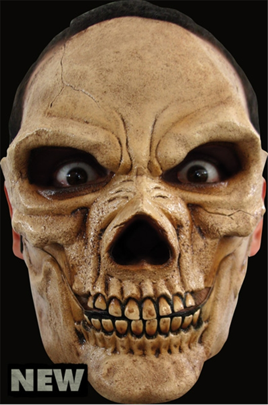 Skull Moving Mouth Adult Mask