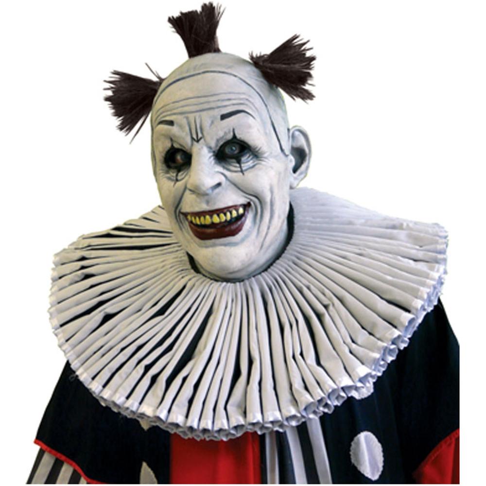 Slapped Clown White Mask - 197350 - Halloween Mask ...