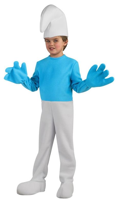 Smurfs Jumpsuit Deluxe Child Costume
