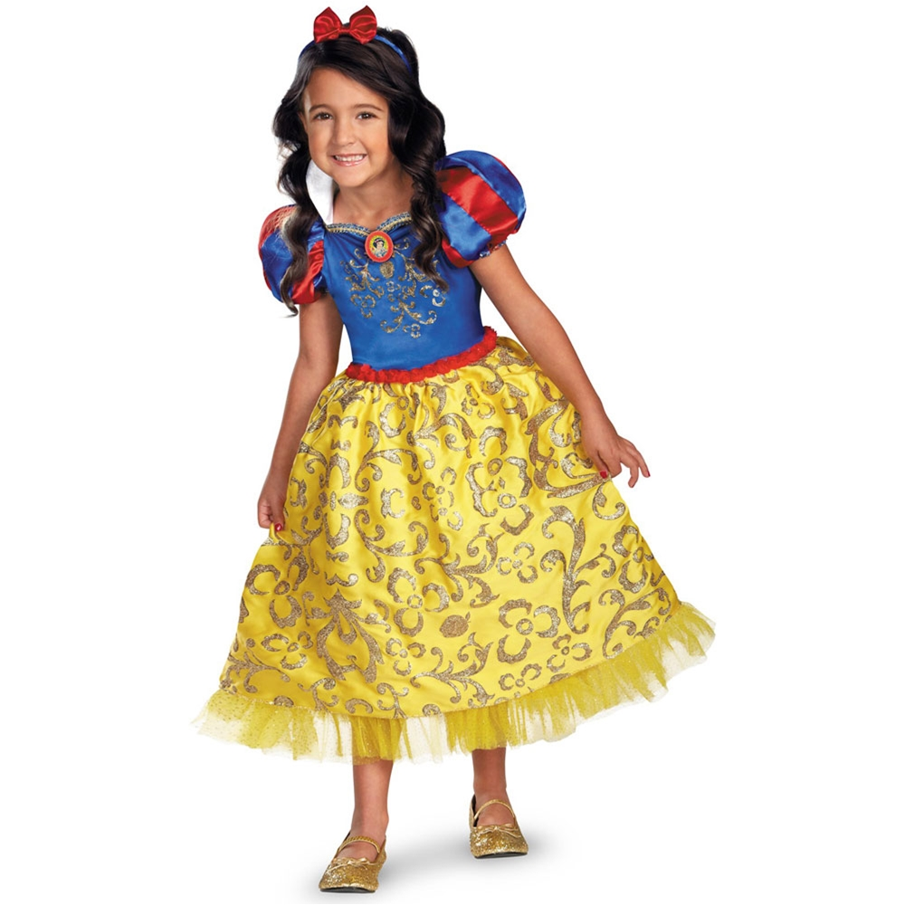 Snow White Sparkle Deluxe Toddler & Child Costume