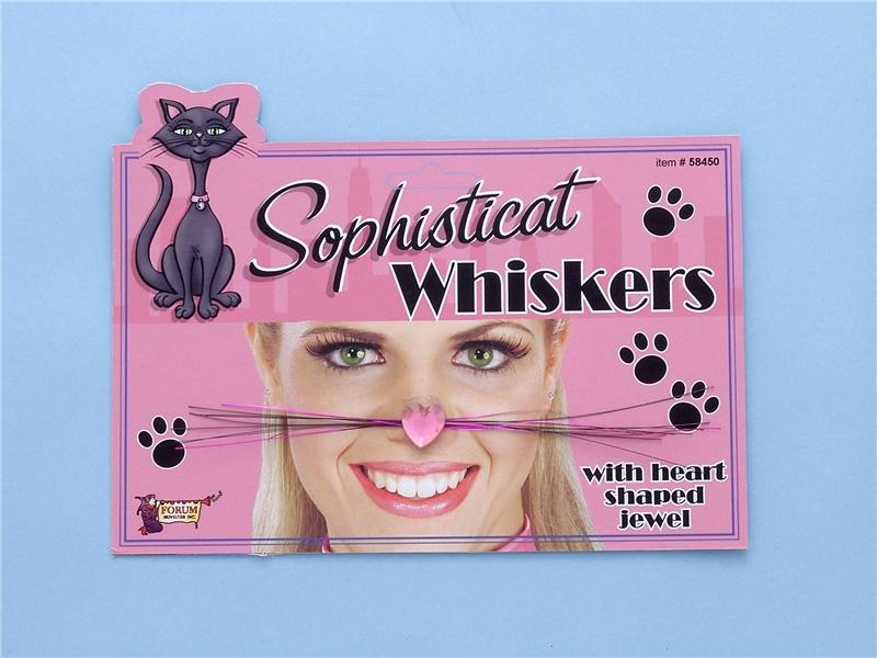 Sophisticat Whiskers by Forum Novelties