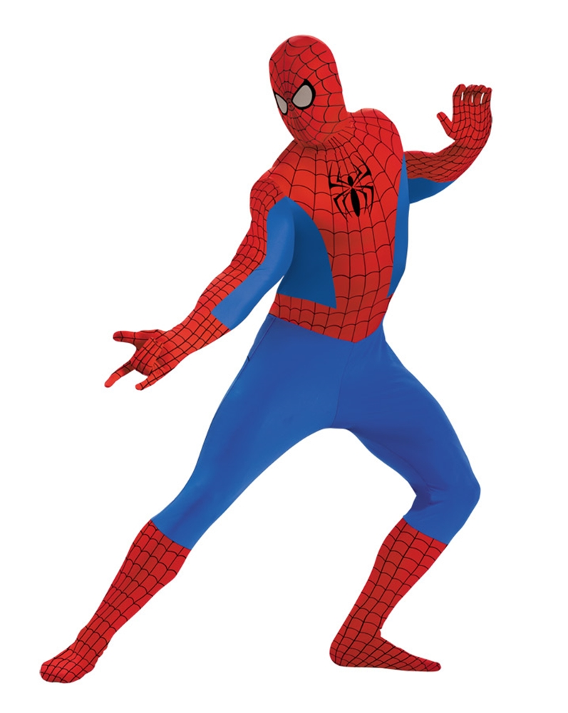 Spider-Man Bodysuit Adult Mens Costume