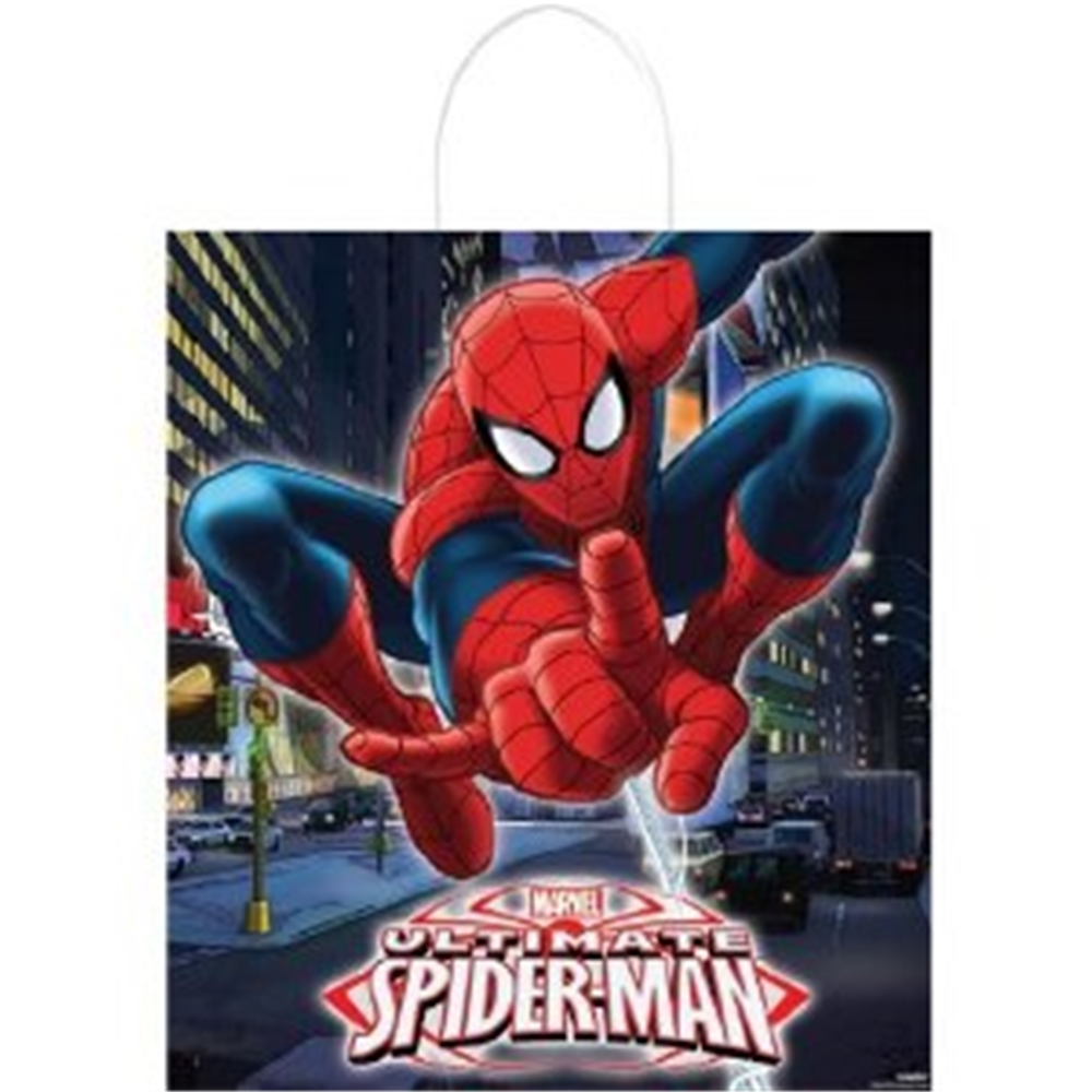 Spider Man Trick Or Treat Bag 379882