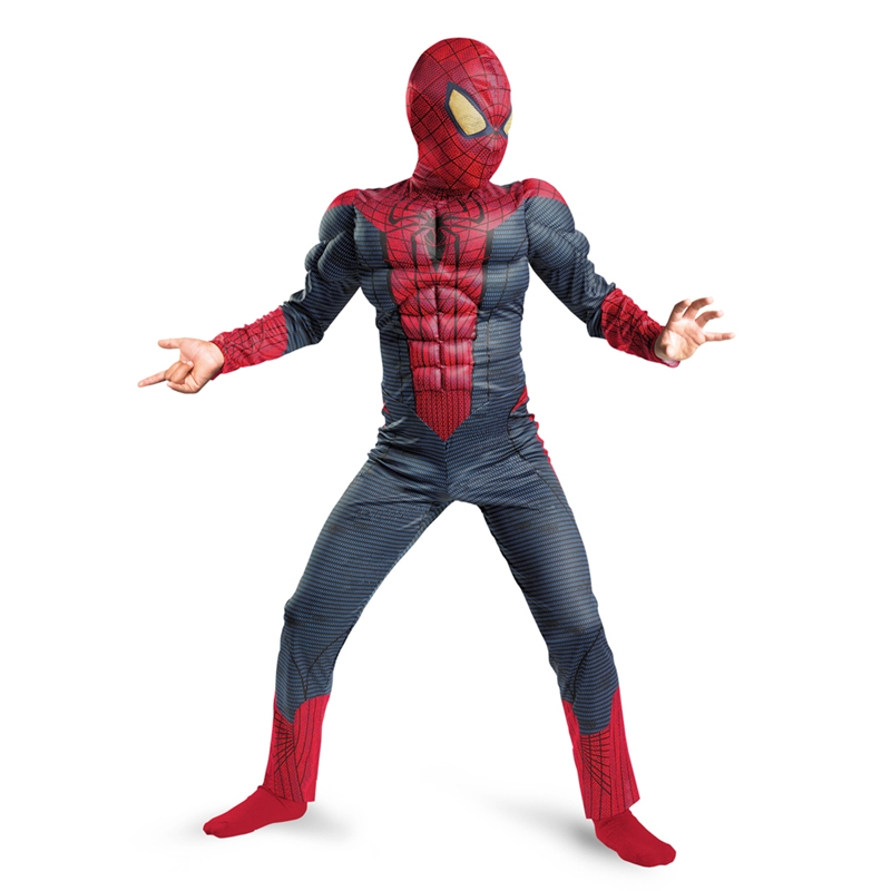 Spiderman Movie Classic Muscle Child Costume